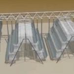 笼式自动养殖喂料机