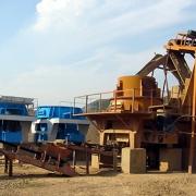 石英石干式制砂机,